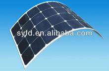 High efficiency sunpower flexible solar panel 200w(TUV,IEC,ROHS,CE,MCS)