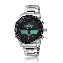 Popular hot sell odm men's black stainless steel watches
