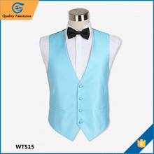 Chunhe Latest New Fashion Cheap Price Men's Wedding Waiter Waistcoat Shop For Men Design
