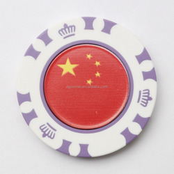 Quick delivery poker chips for golf club