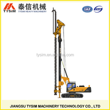 CFA KR125M hydraulic long spiral rotary drilling rig,building construction equipment