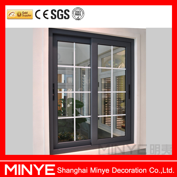 American style aluminum sliding window grill design door for Modern zen window grills design