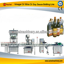 Vinegar Or Wine Or Soy Sauce Bottling Line