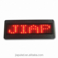 2015 mini LED name badge of famous brand badge from guangzhou