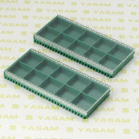 YASAM 10pcs of grids plastic carbide insert box