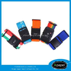 High Quality Colorful Luggage Strap,Luggage Belt With Name Tag