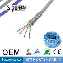 SIPU high quality SFTP lan cable cat for cat5 and cat6 cable making machine