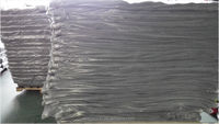 100% polypropylene fire resistant nonwoven clothing material