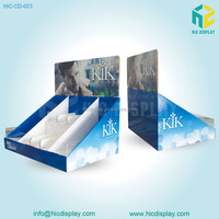 2015 counter top display cardboard display stand help to build your brand