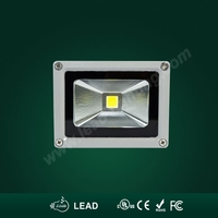 CE RoHS SAA & CUL 10watt outdoor glass lamp glass lamp cover floodlight for outdoor using