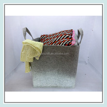 wholesale felt handle dirty laundry bag for hotels