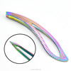 Fashion design beauty tweezer eyebrow tweezers