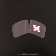 PVC/PET transparent plastic shirt collar butterfly