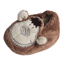 high quality plush indoor shoes for kids