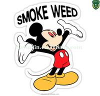 Good quality custom pvc private label,cartoon sticker