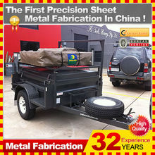 Newly design customized motorcycle trailer folding tent trailer