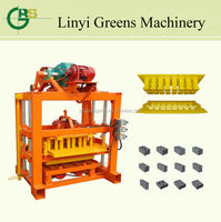 QTJ4-40 new type hollow block machine for small business