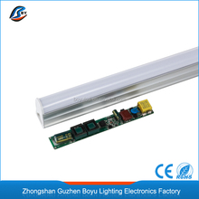 top sell CE 120cm 18W T5 led fluorescent tube SMD2835 series 1200mm led tube t5 light led fluorescent lamp t5 tube
