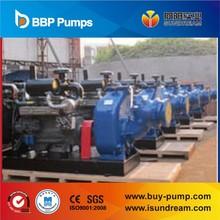 SW/SWH diesel engine self priming trash pump