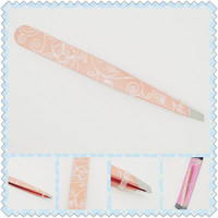 Hot selling cosmetic eyebrow tweezer for wholesales