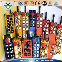 Wireless industrial crane remote control