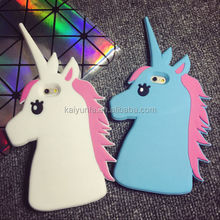 Aminal shaped unicorn case for samsung galaxy j5 back cover for j1 Note 5, Note 5 edge