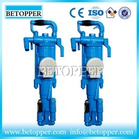 Hand held air compressor hammer