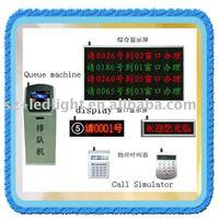 bank queue led board display