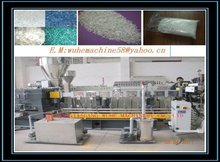 waste bottles recycling PET bottle flakes granulator machine