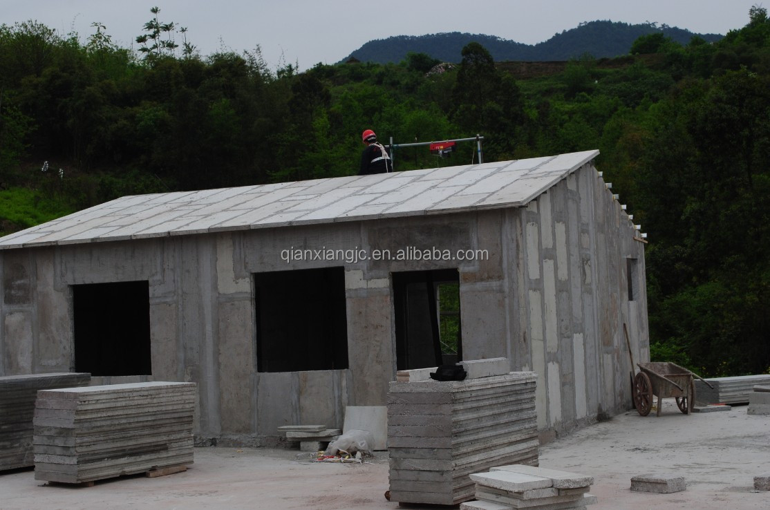 Made in china cheap prefab eps cement sandwich panel house for Cheap house building options