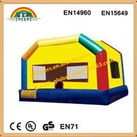 EN14960 new design inflatable bouncy castle bounce house