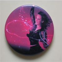 Round Crystal Clear Epoxy Adhesive Circles 3D Bottle Cap Stickers
