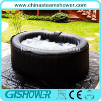 Mini Hydrotherapy hot tub whirlpool outdoor spa