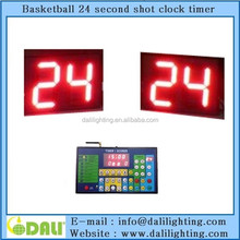 LED digital outdoor basketball 24 seconds count down