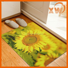 sunflower custom printed pvc door foot mat, pvc door mat, door mat