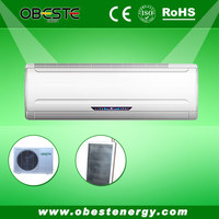 Split Wall Mounted Unit Type DC Inverter Type Indoor Solar Air Conditioners Factory Price