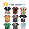 Custom 2015 Men's Women's Fashion New Model Printed Space Galaxy Skull Tee Round Top dri fit shirts wholesale T-Shirt