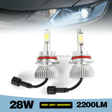 best price 28W 2200LM car led headlight H4 9004 9007