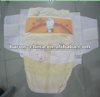 Big Ear T-Shape High Quality Sleepy Baby Diapers Made in China