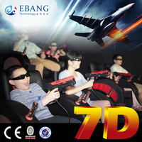 new theme park equipment 7d cinema project