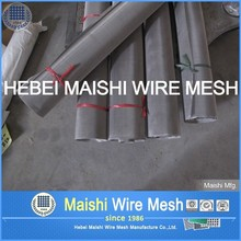 AISI 302 304 316 Grade Stainless Steel Wire Mesh 5 Mesh 0.09 mm Plain weave