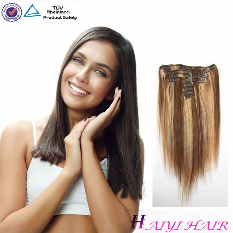 Cheap Human Hair Extensions Full Head 103