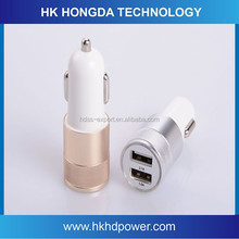 Electric Type and Tablet Use Car Charger USB , 5V 2.1a USB Car Charger, Dual USB Charger