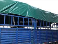 HDPE coated 6 x 8m vinyl military truck tarps, stocklot pe / pp tarpaulin