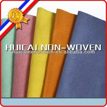 light green, baby pink, orange, yellow, blue non woven cleaning cloth