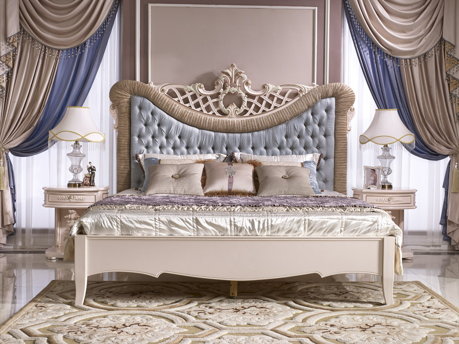 Royal Luxury Bedroom Set,Classic French Elegant Bed,Romantic Bedroom ...