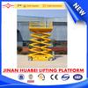 SJPT Mobile Scissor lift Manufacture Self-propelled lift platform