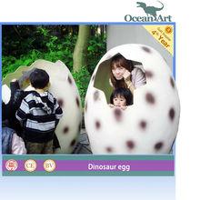 Parque de atracciones gran fibra de vidrio dinosaurio huevo