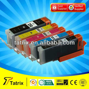 PGI-250 CLI-251 Compatible for Canon Ink Cartridge PGI-250 XL CLI-251 XL with chip used in PIXMA MG5420/MG6320/IP7220