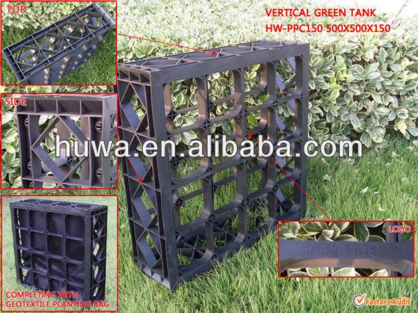 2014 nueva caliente m dulo jard n vertical m dulos de for Modulo jardin vertical